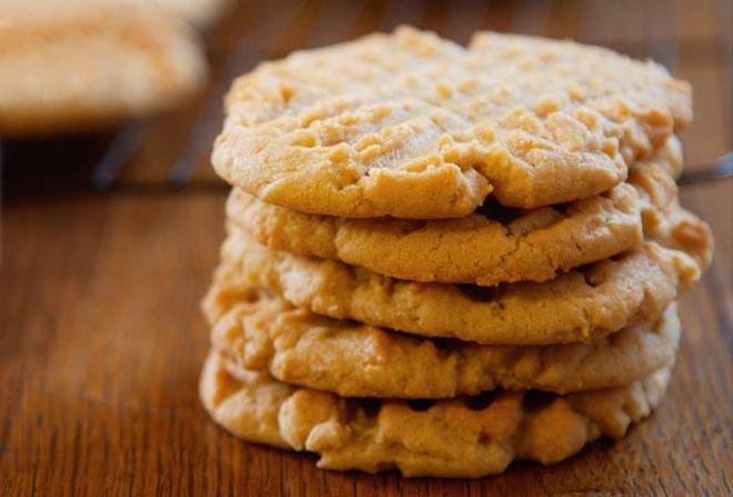 ПЕЧЕНЬЕ: с арахисовым маслом