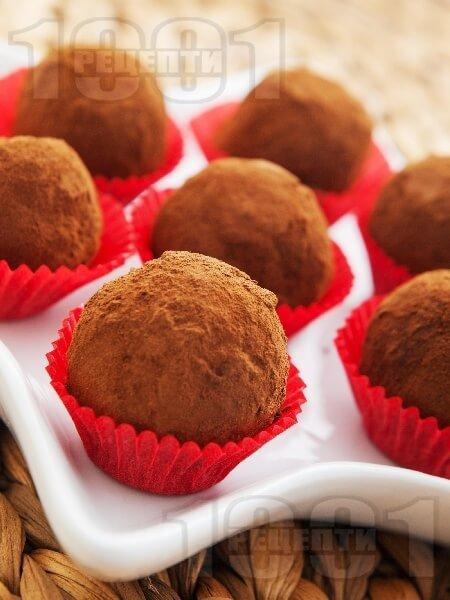 КОНФЕТЫ: домашние с шоколадом и какао