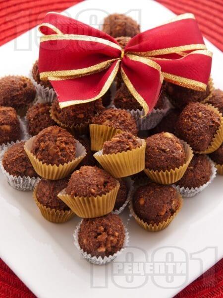 КОНФЕТЫ: домашние из печенья и какао