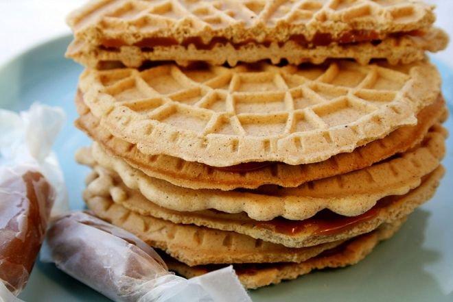 Печенье: голландское карамельное