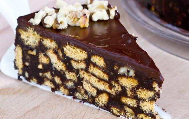 Шоколадный торт: с апельсиновым соком