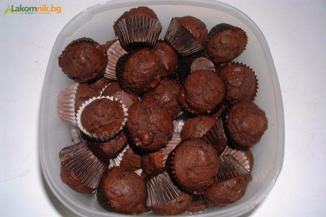 Кекс: шоколадный
