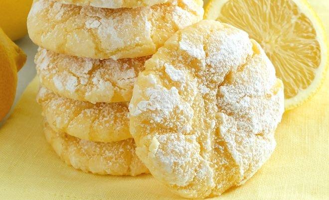 ТОРТ: масляные бесквиты с лимоном