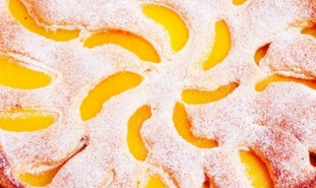 ПИРОГ: с персиками