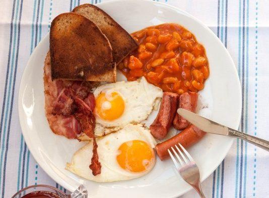 АНГЛИЙСКИЙ ЗАВТРАК: калорийное и вкусное блюдо