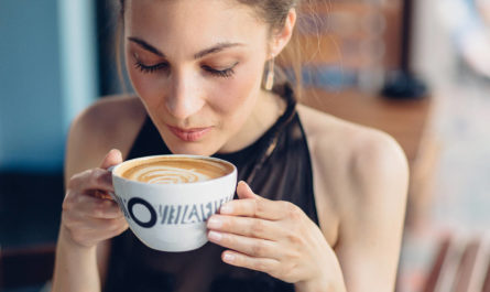 употребление кофе