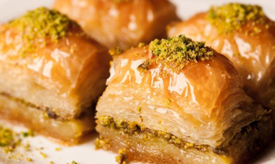 ТУРЕЦКАЯ ПАХЛАВА: изумительный десерт
